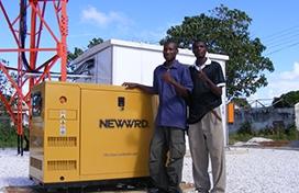 中兴赞比亚通信电源